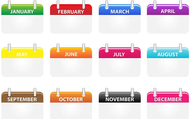 Days of the Month